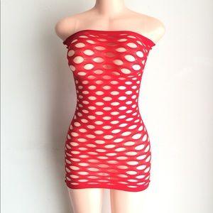 Other - Seamless body stocking fishnet lingerie